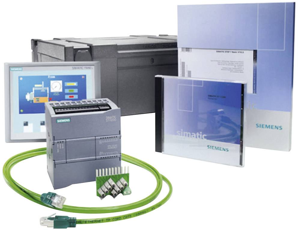 Sada PLC kontrolérů Siemens S7-1200+KTP400 BASIC 6AV6651-7KA01-3AA4, 115 V/AC, 230 V/AC
