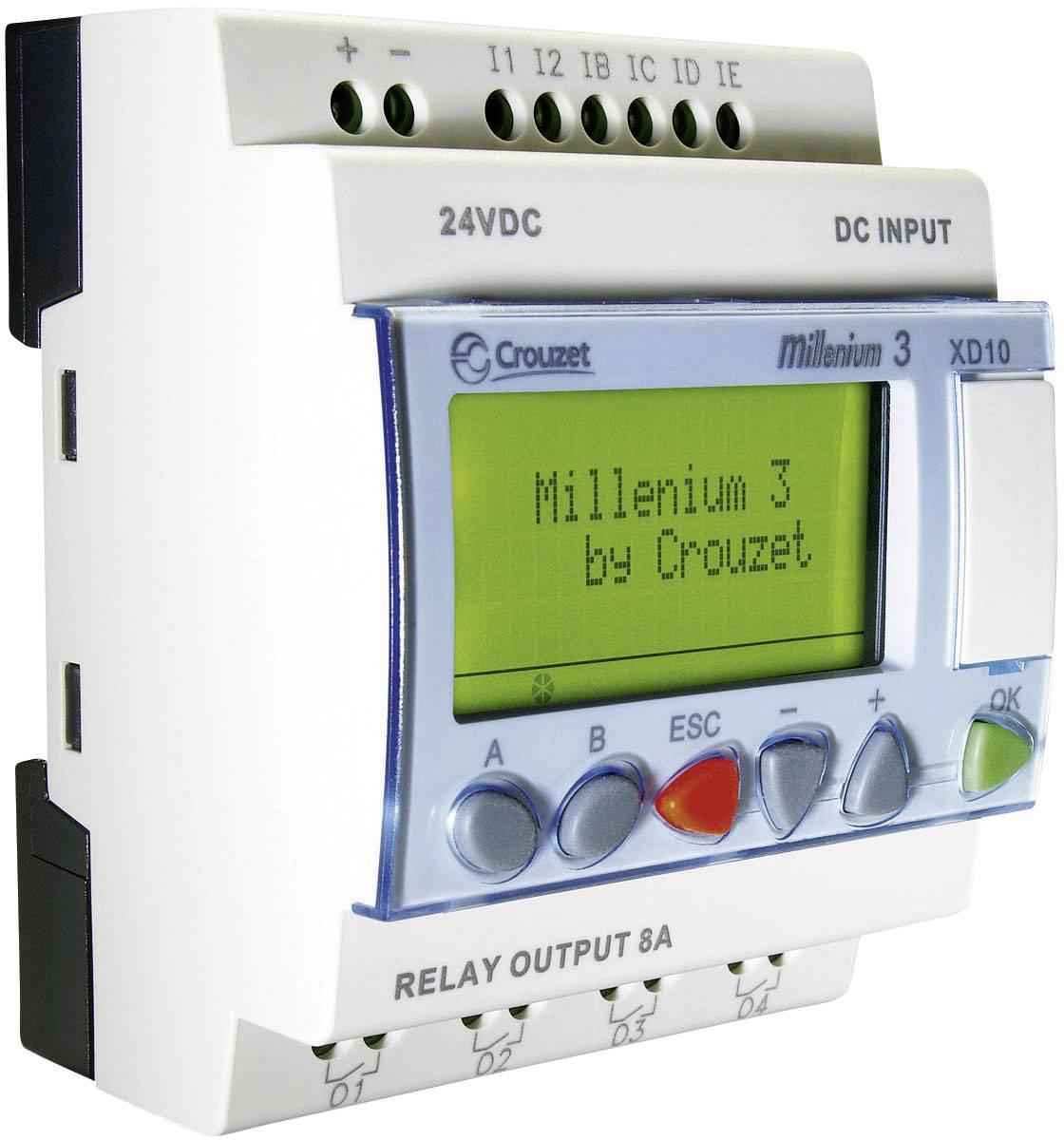 Riadiacimodul Crouzet Millenium 3 XD10 S 88970142, 24 V/DC