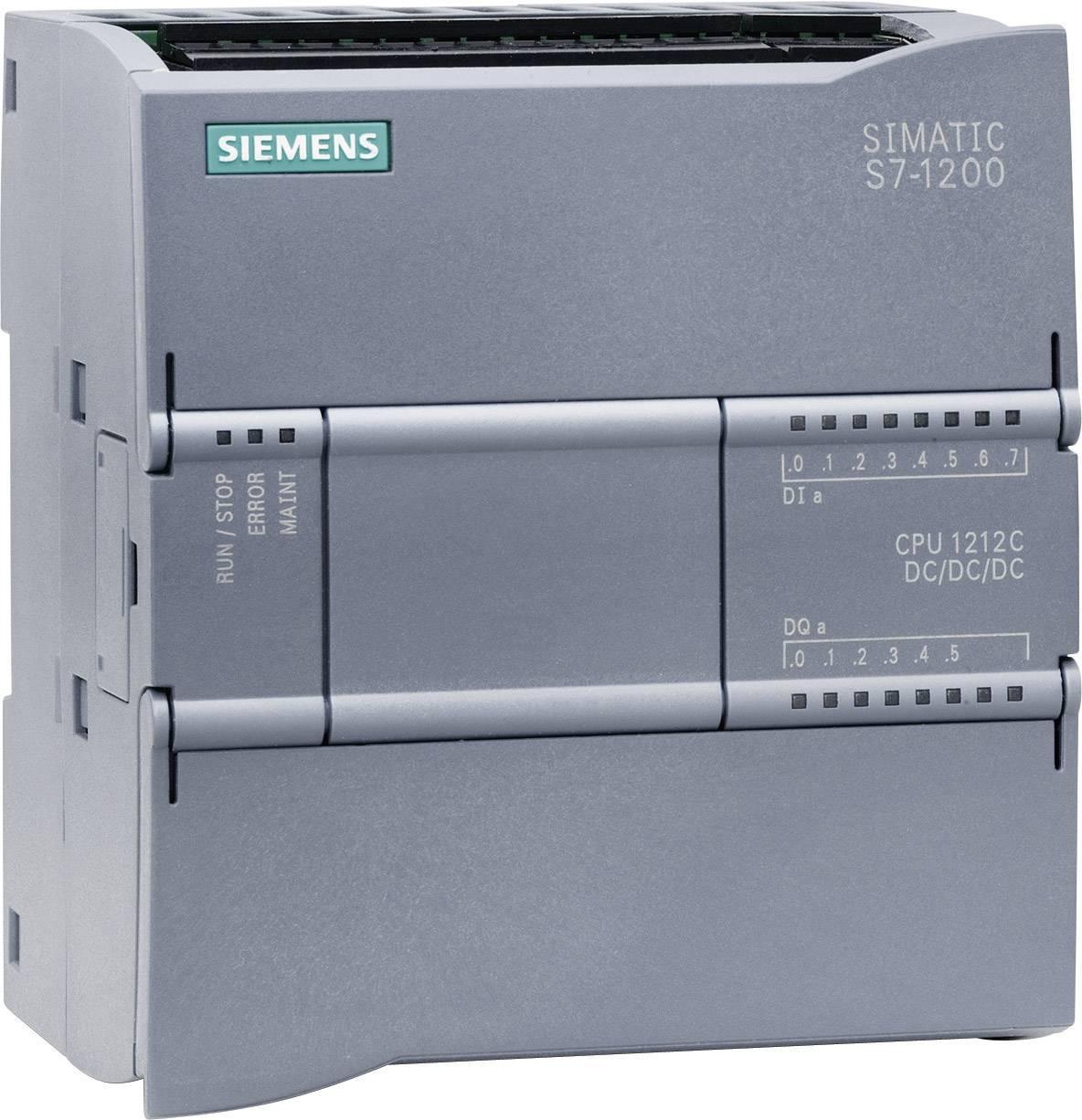 Riadiacimodul Siemens CPU 1212C DC/DC/DC, 6ES7212-1AE31-0XB0, 24 V/DC