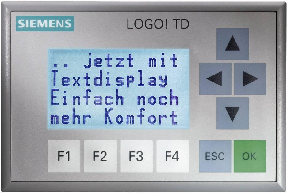 Rozširujúci displej Siemens LOGO! TD 6ED1055-4MH00-0BA0