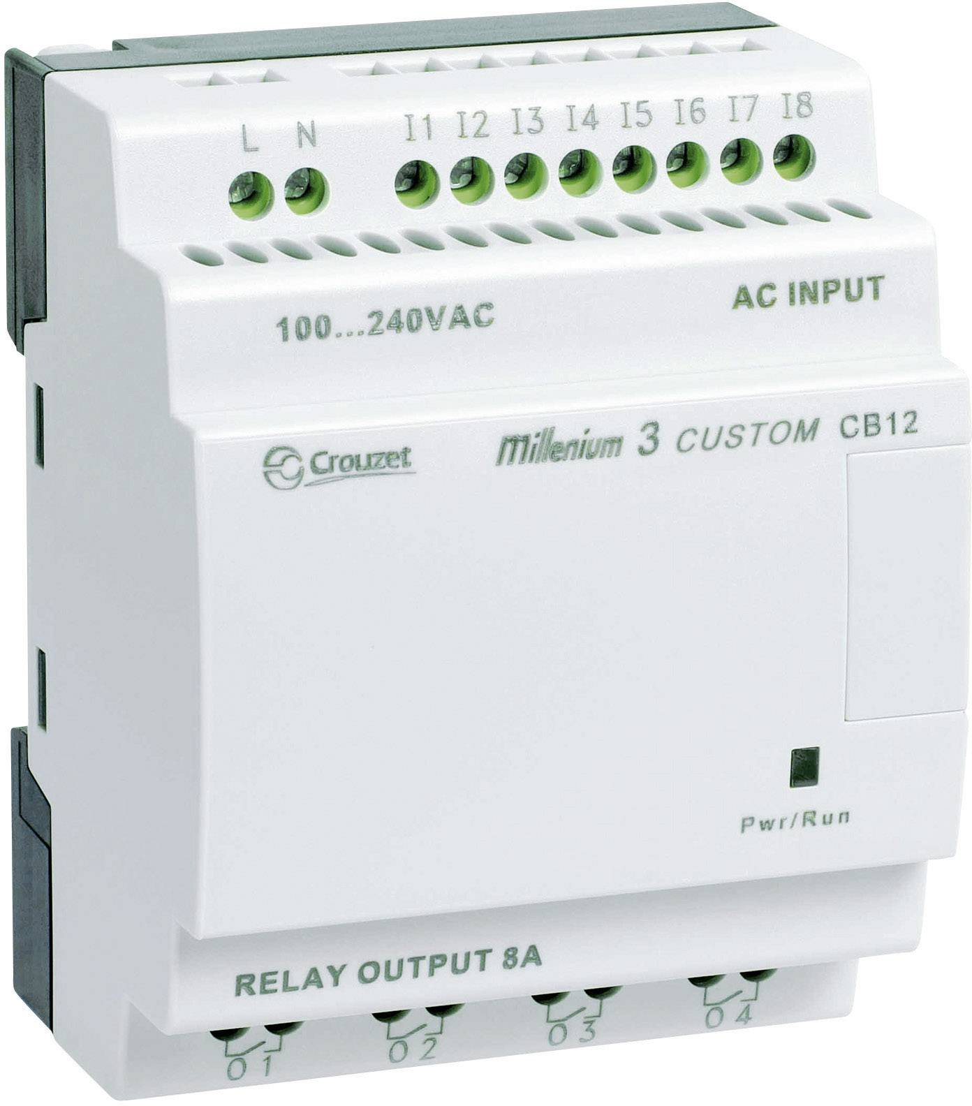 Riadiacimodul Crouzet Millenium 3 CB12 R 88970021, 24 V/DC