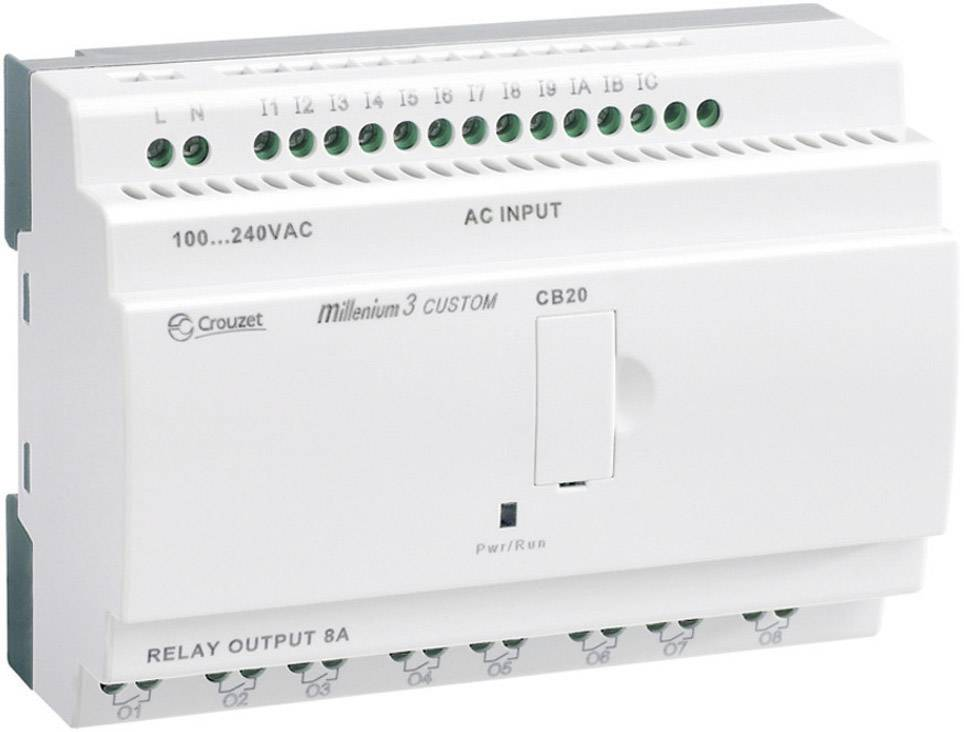 PLC řídicí modul Crouzet Millenium 3 Smart CB20 R 88974031 24 V/DC