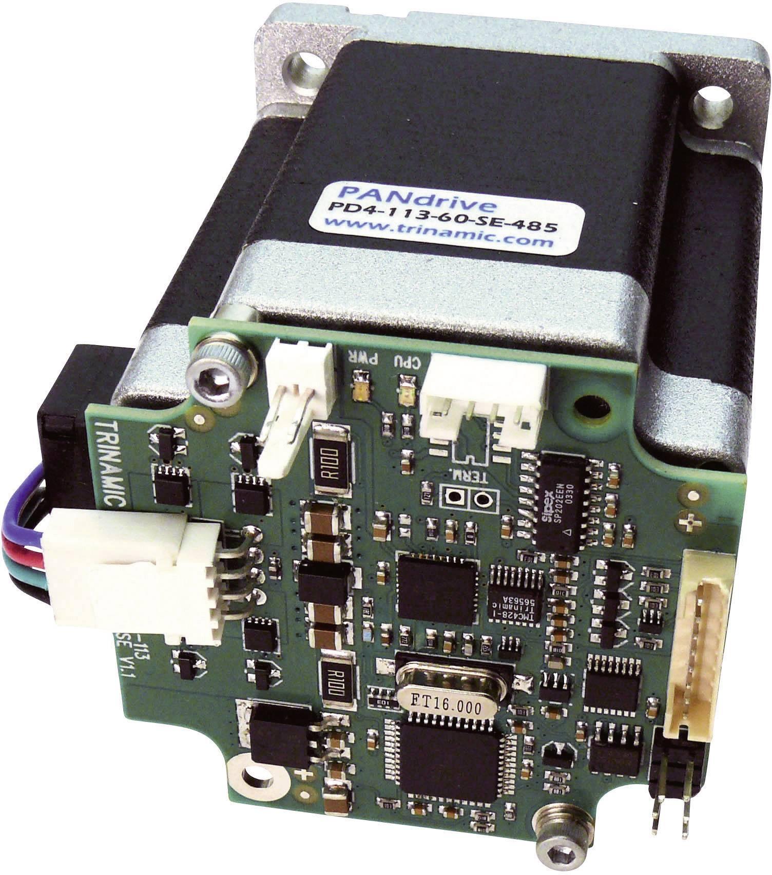 Krokový motor s řízením PANdrive Trinamic PD4-113-60-SE-232