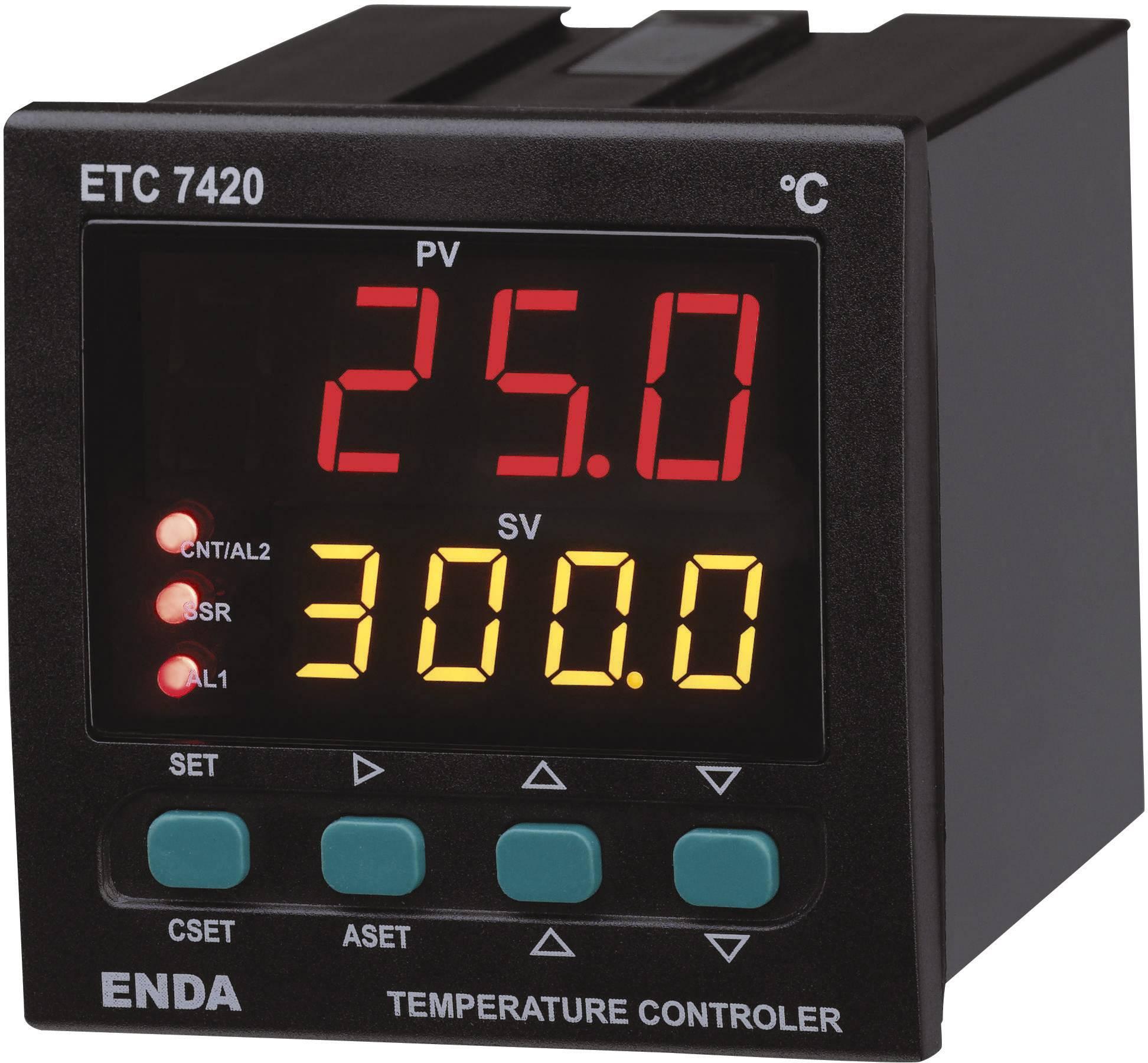 Panelový PID termostat Suran Enda, ETC7423, 230 V/AC
