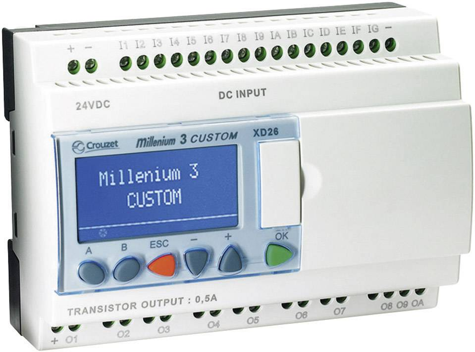 Řídicí moduly (PLC)
