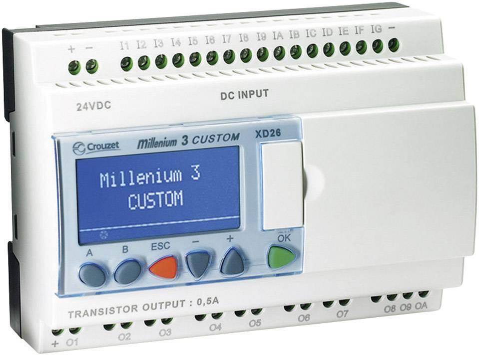 PLC řídicí modul Crouzet Millenium 3 Smart XD26 R 88974161 24 V/DC