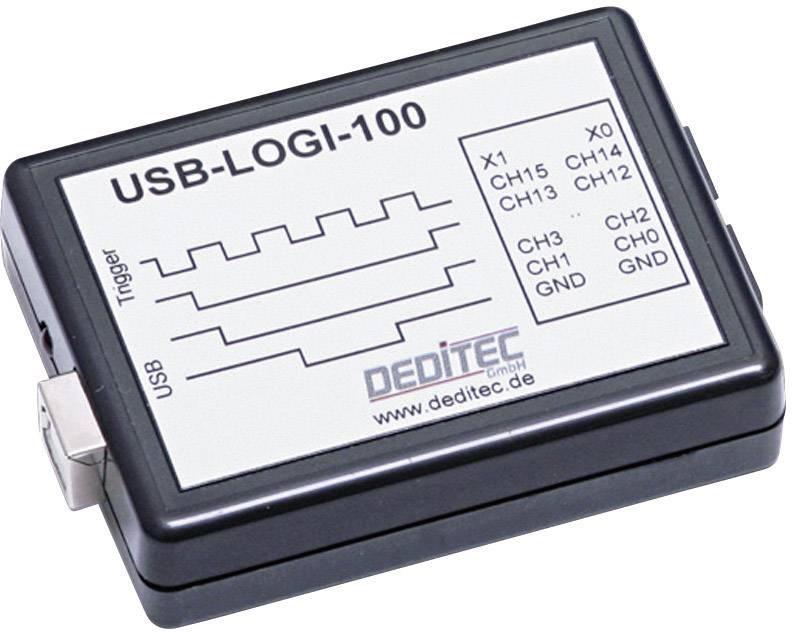 USB logický analyzátor Deditec USB-LOGI-100, 18 kanálov
