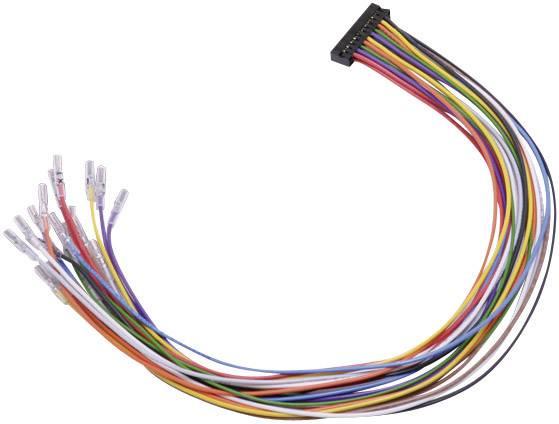 Měřicí kabel Deditec, USB-KAB-20, 20 pinů, vhodný pro USB-LOGI