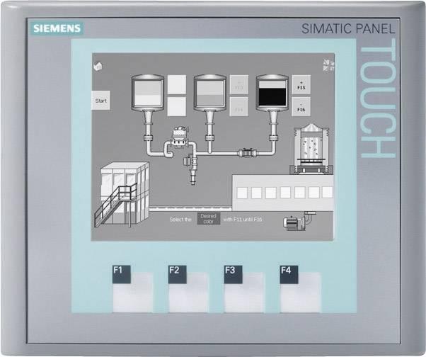 Monochromatický STN displej dotykový Siemens SIMATIC KTP400 (6AV6647-0AA11-3AX0), 512 kB