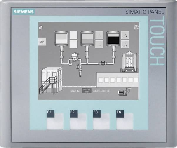 PLC rozšíření displeje Siemens SIMATIC KTP400 (6AV6647-0AA11-3AX0), 512 kB