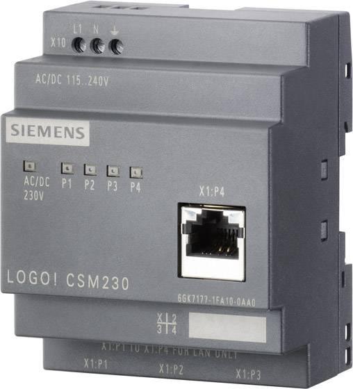 Sieťový prepínač Ethernet Siemens LOGO! 6GK7177-1MA20-0AA0, IP20