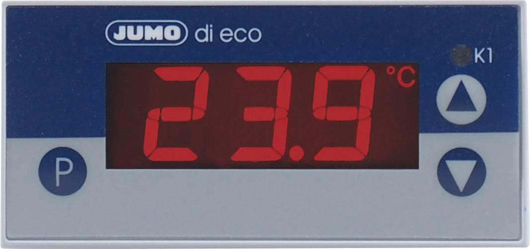 Panelový termostat JUMO di eco, 230 V/AC, 69 x 28.5 mm, -200 až 600 °C