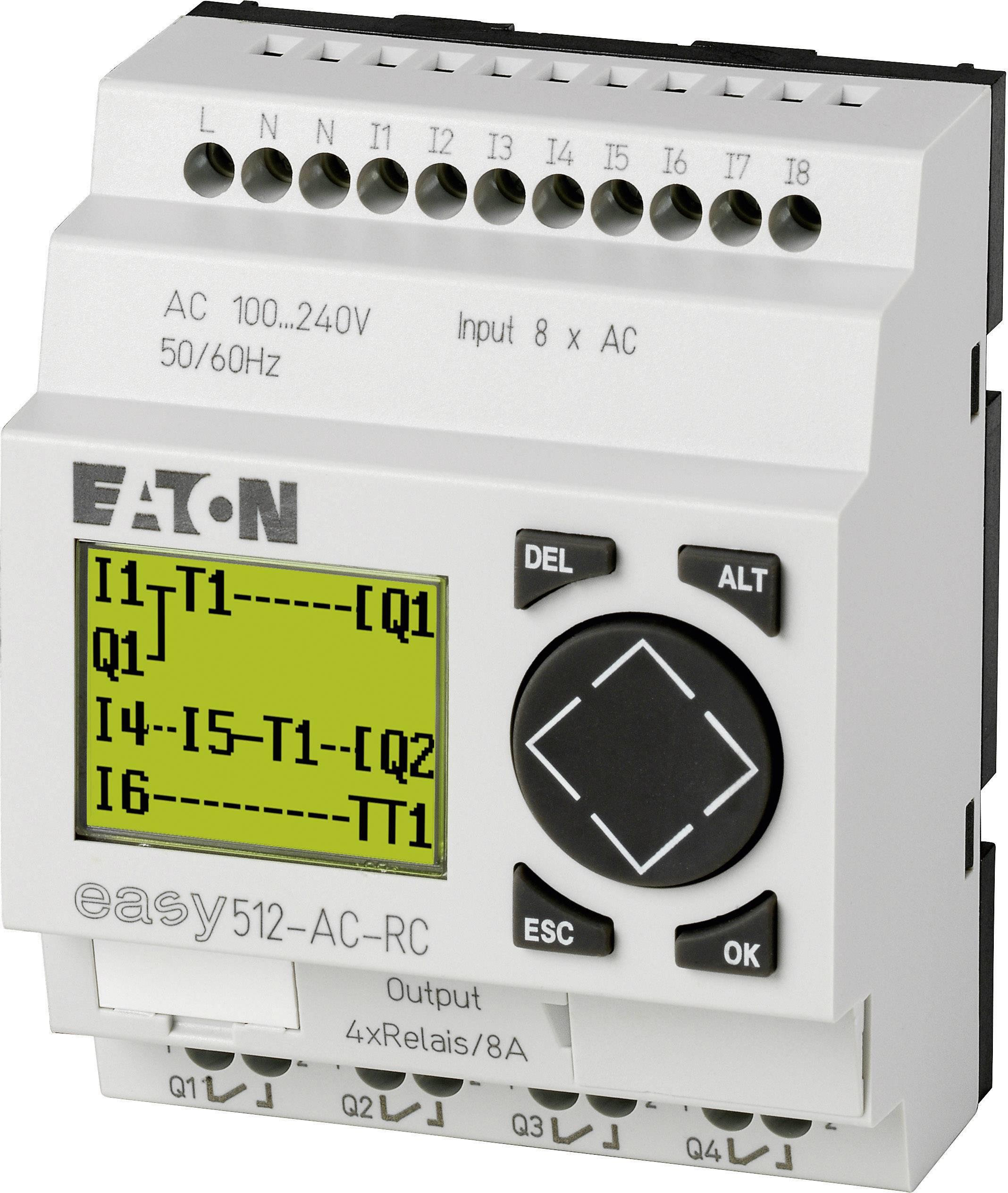 Riadiacimodul Eaton easy 512-AC-RC 274104, 115 V/AC, 230 V/AC