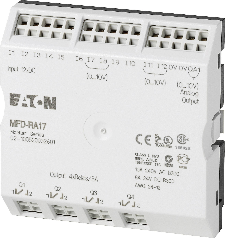PLC rozširujúci modul Eaton MFD-RA17 265364, 24 V/DC