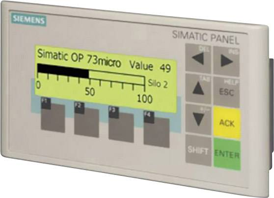 Rozširujúci displej Siemens SIMATIC OP 73micro 6AV6640-0BA11-0AX0