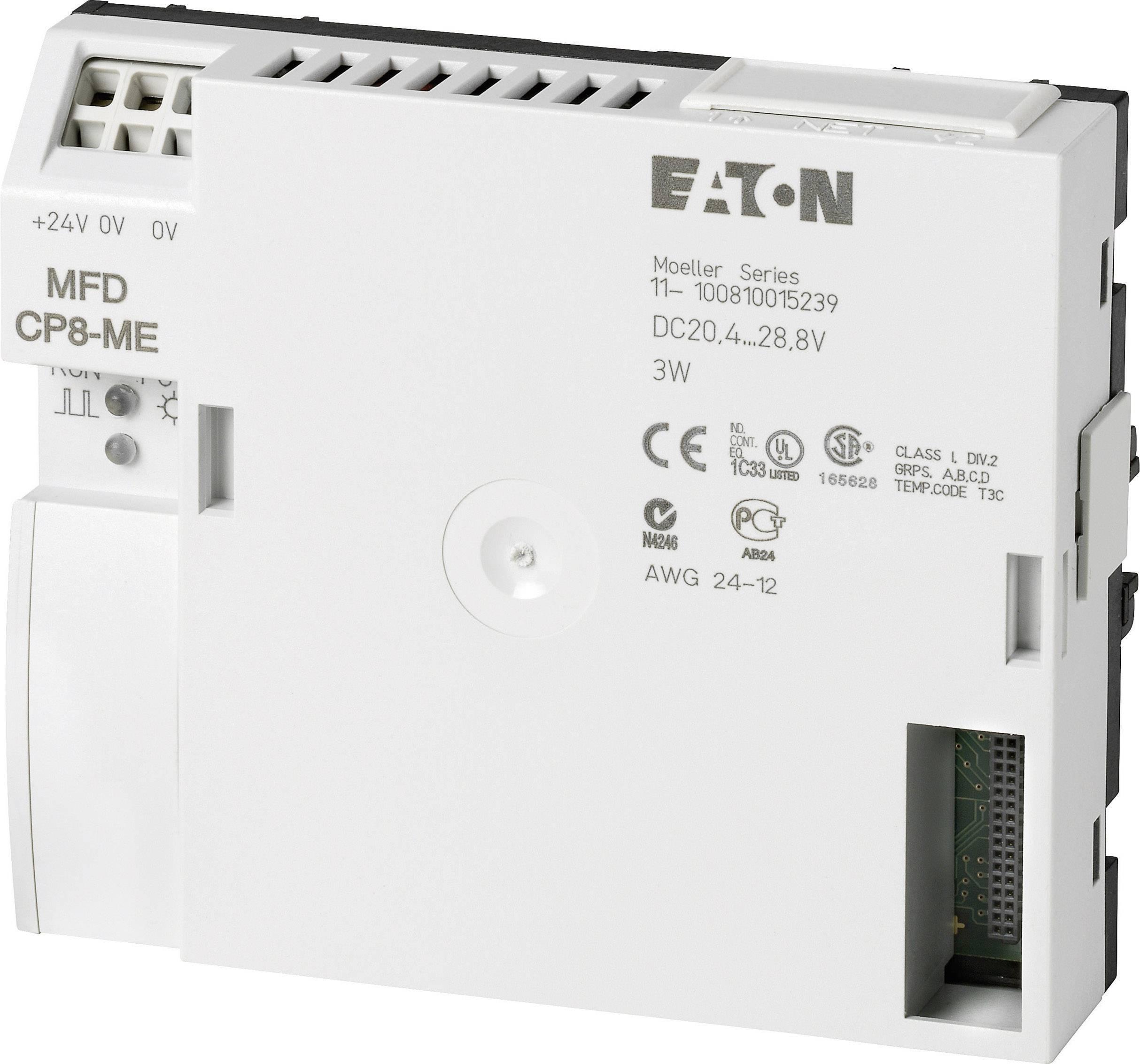 PLC rozširujúci modul Eaton MFD-CP8-ME 267164, 24 V/DC