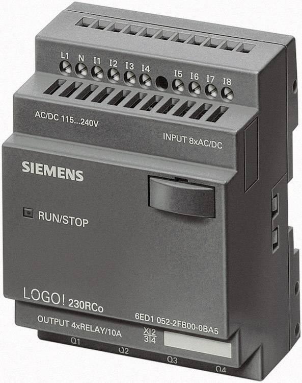 Riadiacimodul Siemens LOGO! 12/24RCo 6ED1052-2MD00-0BA6, 12 V/DC, 24 V/DC