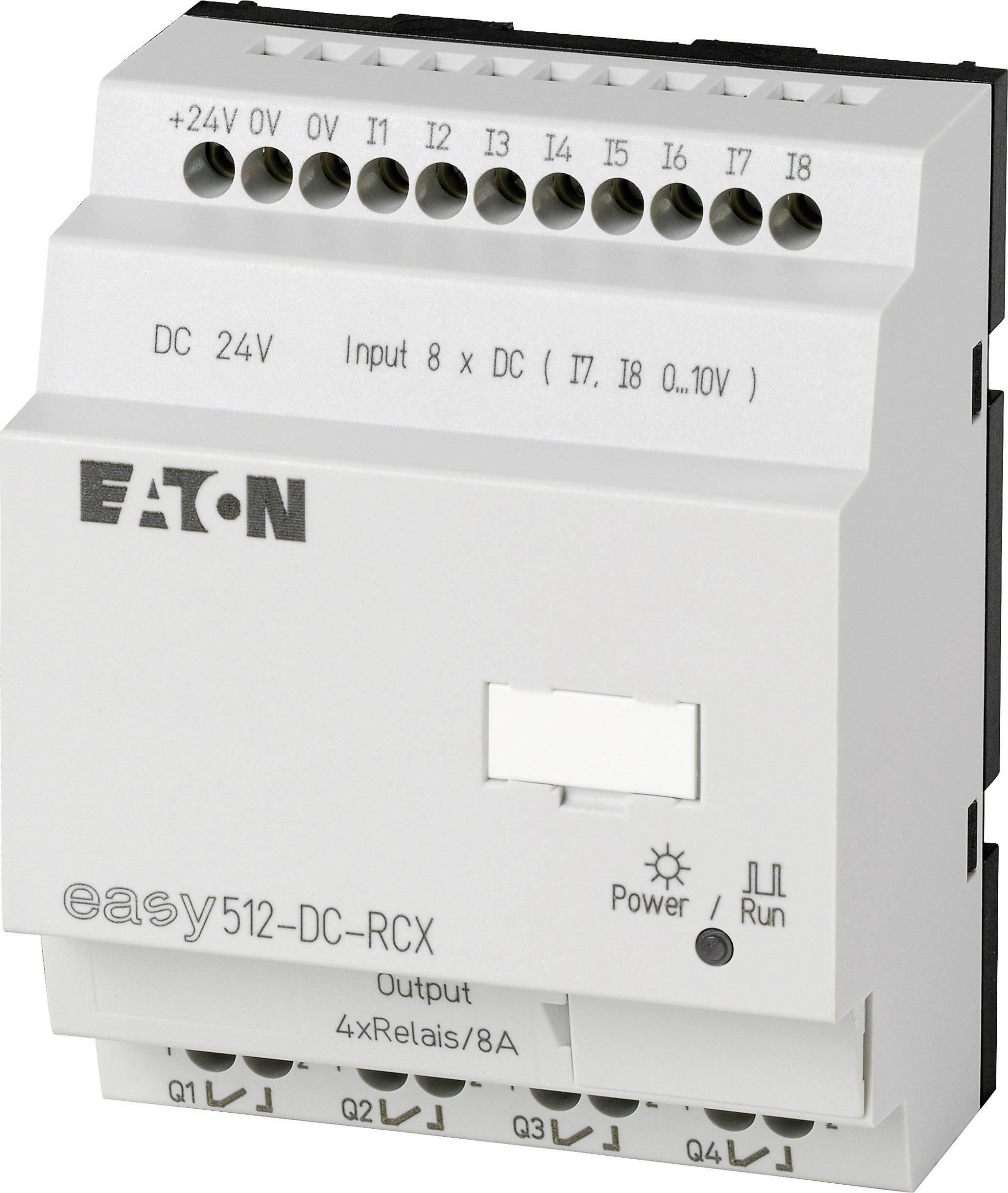 Řídicí reléový modul Eaton easy 512-DC-RCX (274110), IP20, 4x relé