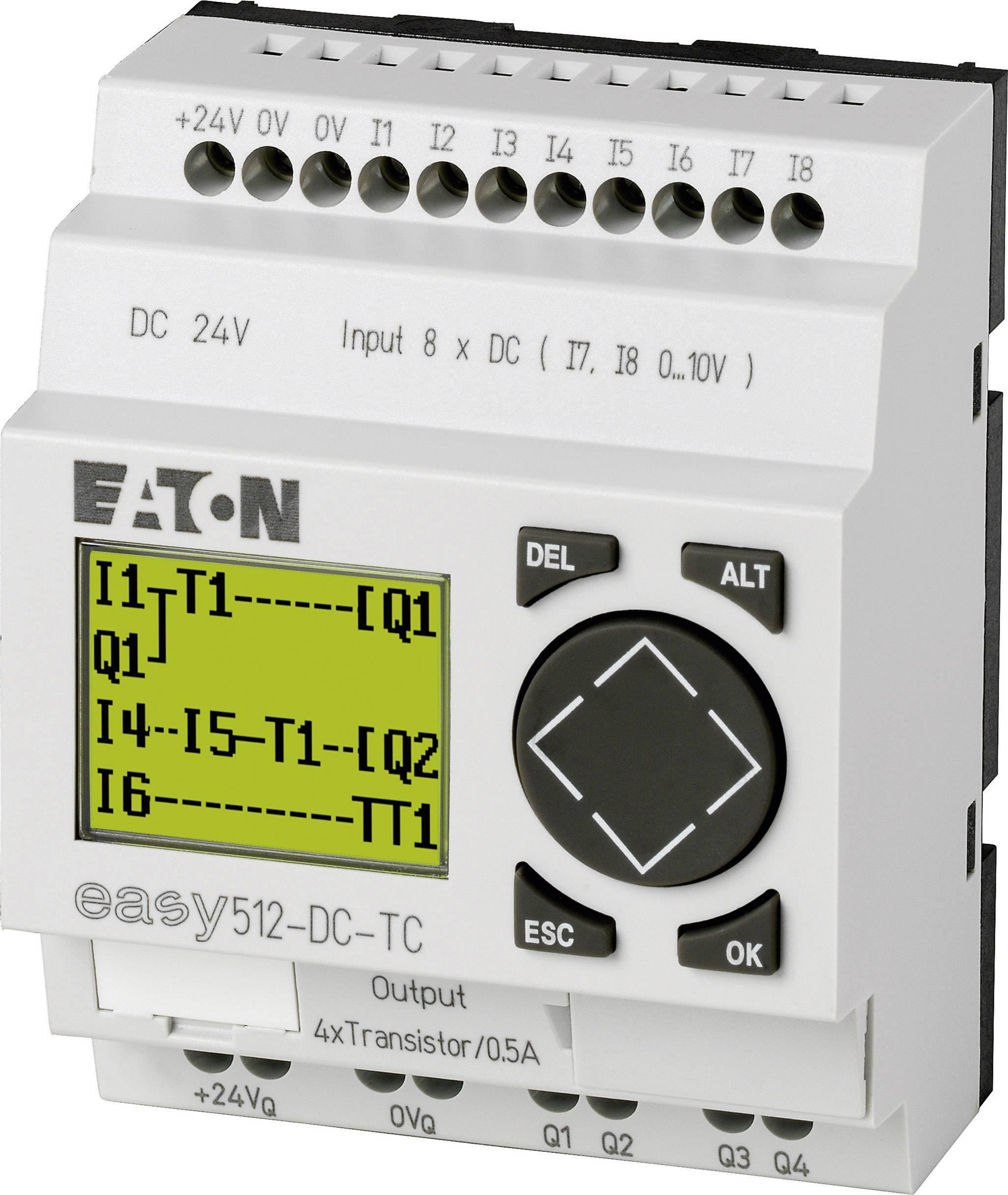 Řídicí reléový modul Eaton easy 512-DC-TC (274111), IP20, 4x tranzistor