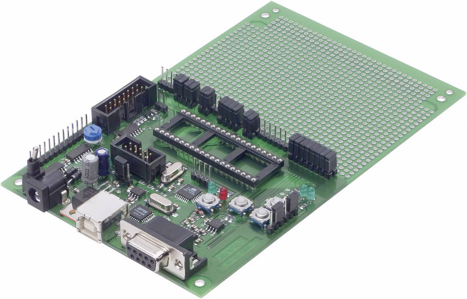 C-Control PRO Evaluation Board Mega 32, 9 V/DC, 125 mA, 100 x 160 mm