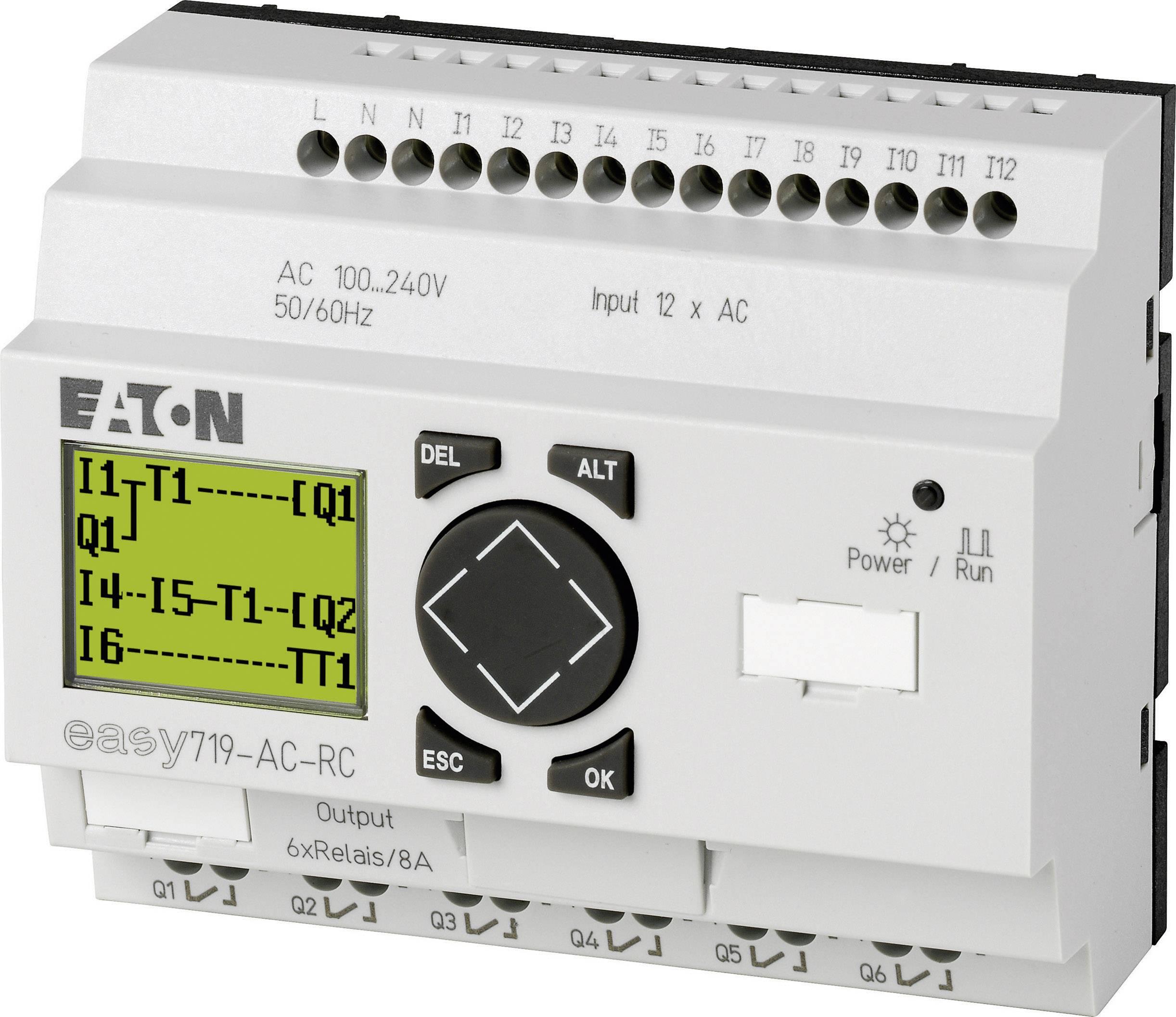 Riadiacimodul Eaton easy 719-AC-RC 274115, 115 V/AC, 230 V/AC