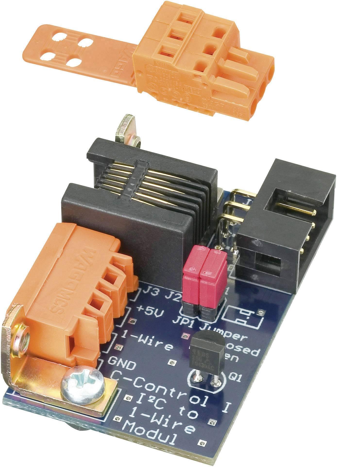 Převodník I2C Bus konektoru na RJ12, C-Control