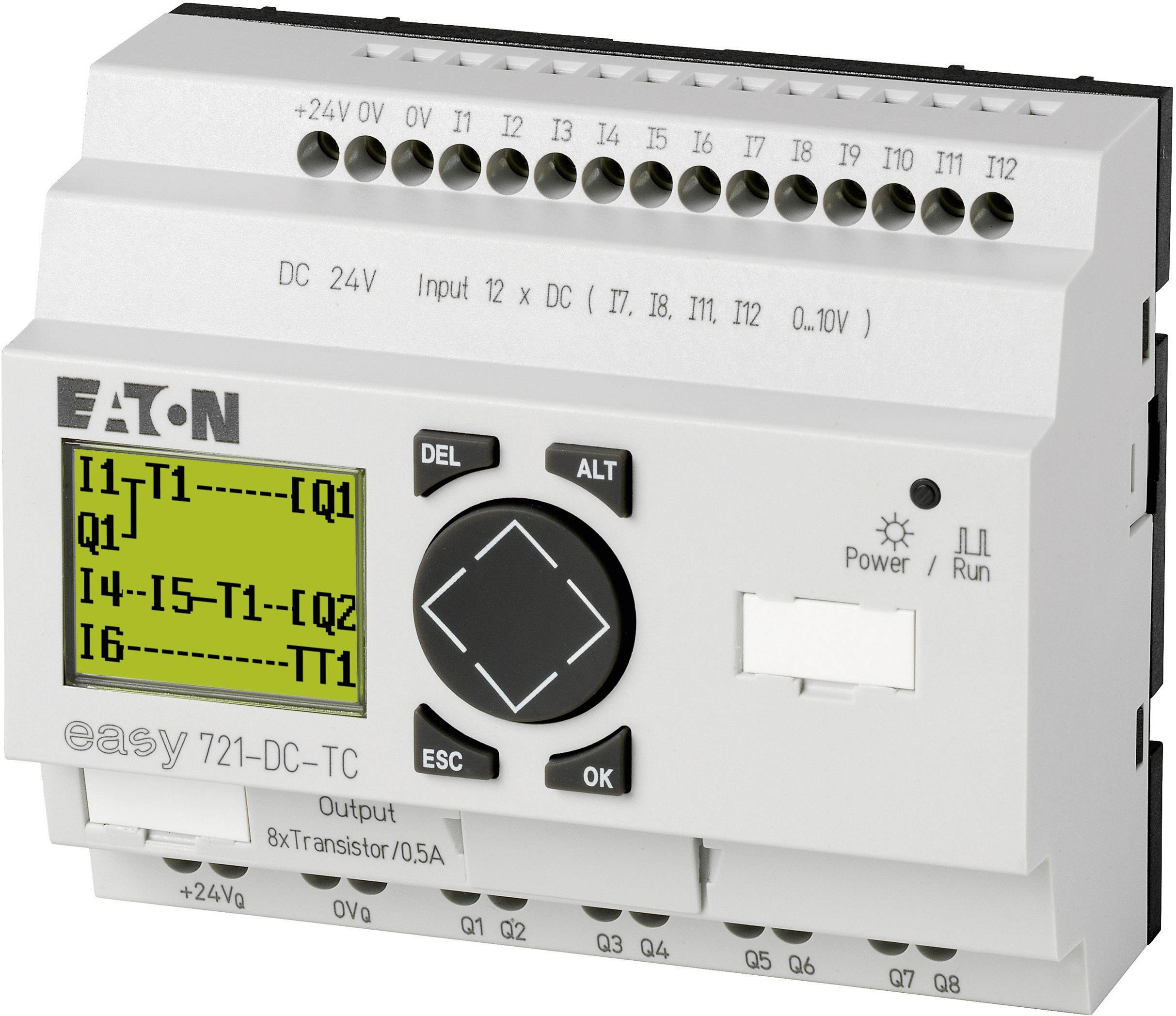 Riadiacimodul Eaton easy 721-DC-TC 274121, 24 V/DC