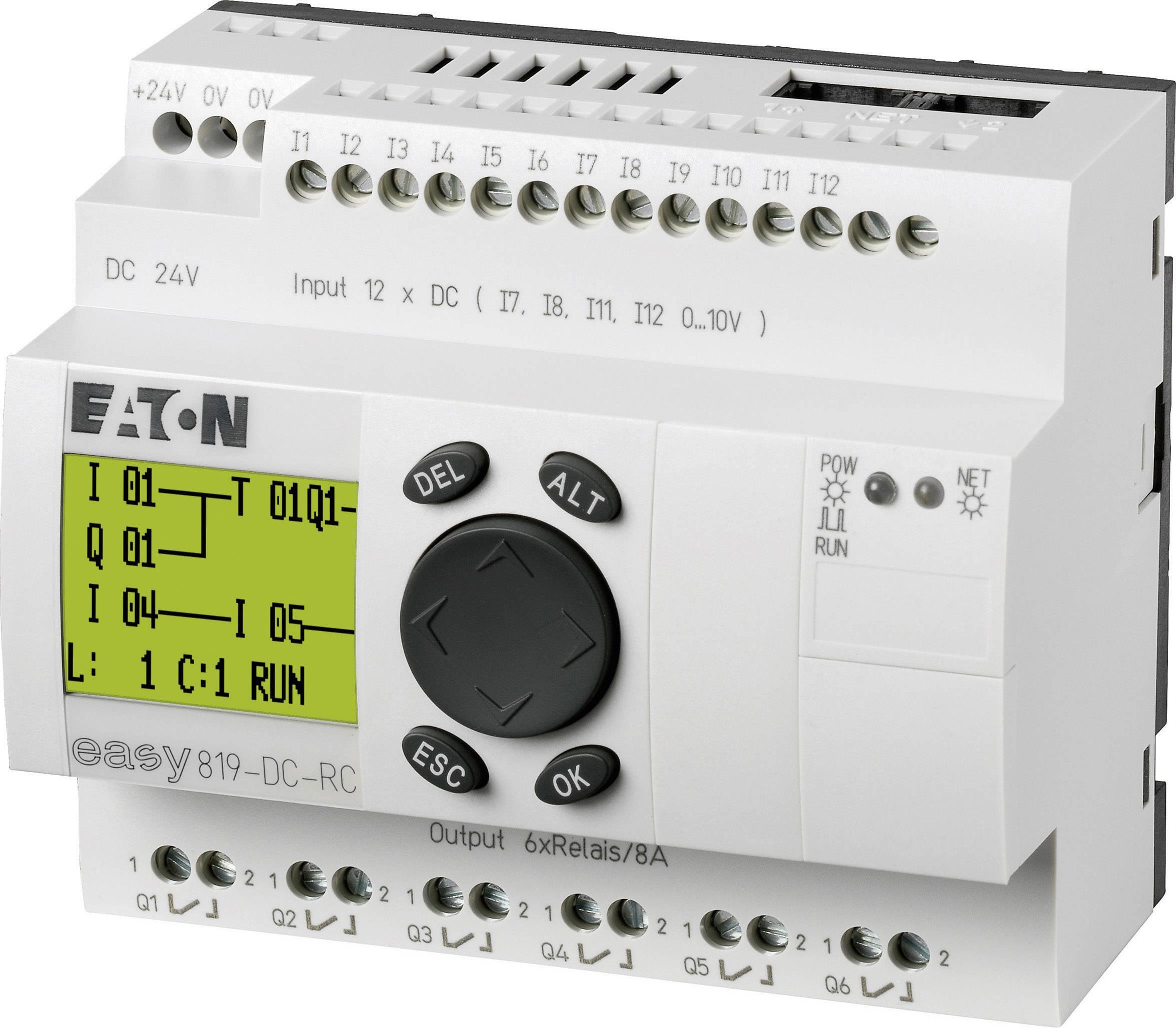 Řídicí reléový modul Eaton easy 819-DC-RC (256269), IP20, 12, 6x relé