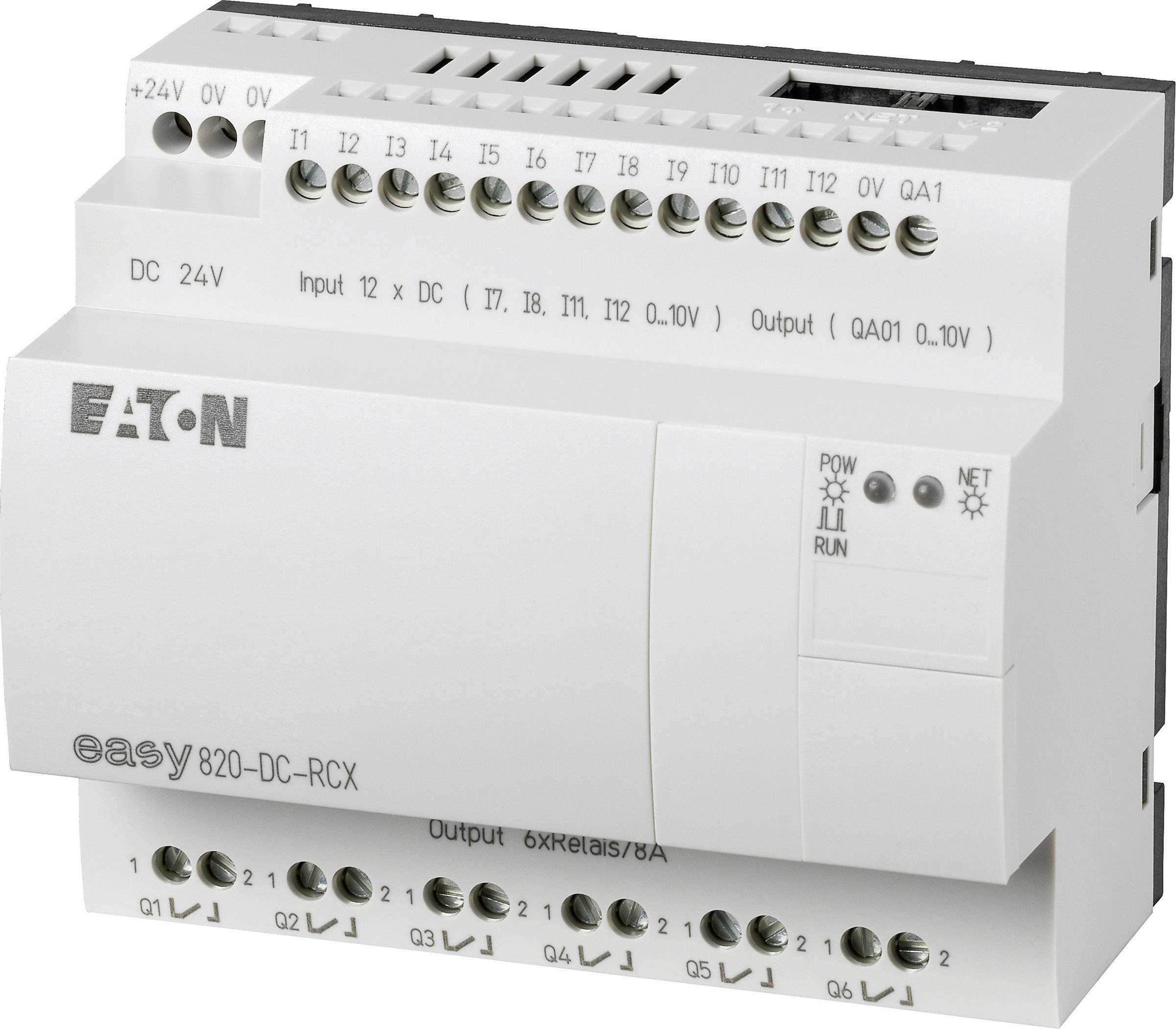 Řídicí reléový modul Eaton easy 820-DC-RCX (256272), IP20, 12, 6x relé