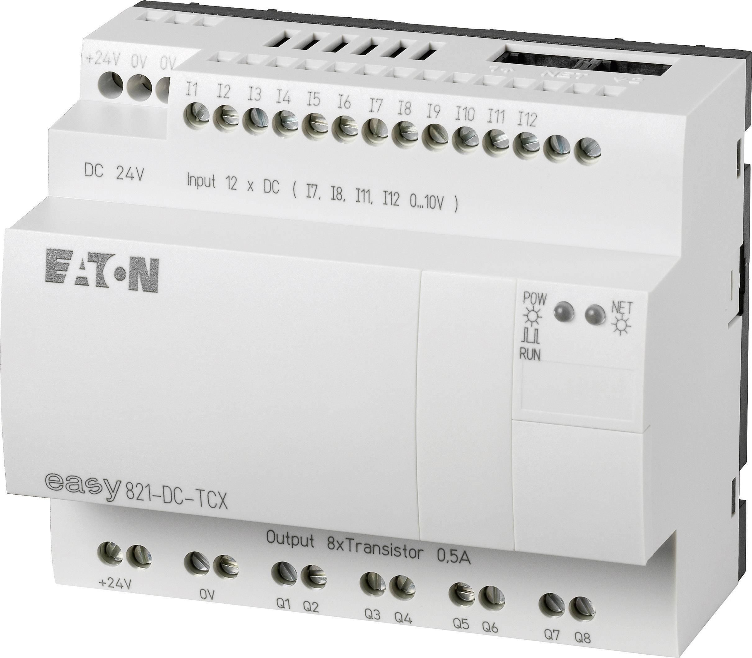 Řídicí reléový modul Eaton easy 821-DC-TCX (256274), IP20, 12, 8x tranzistor