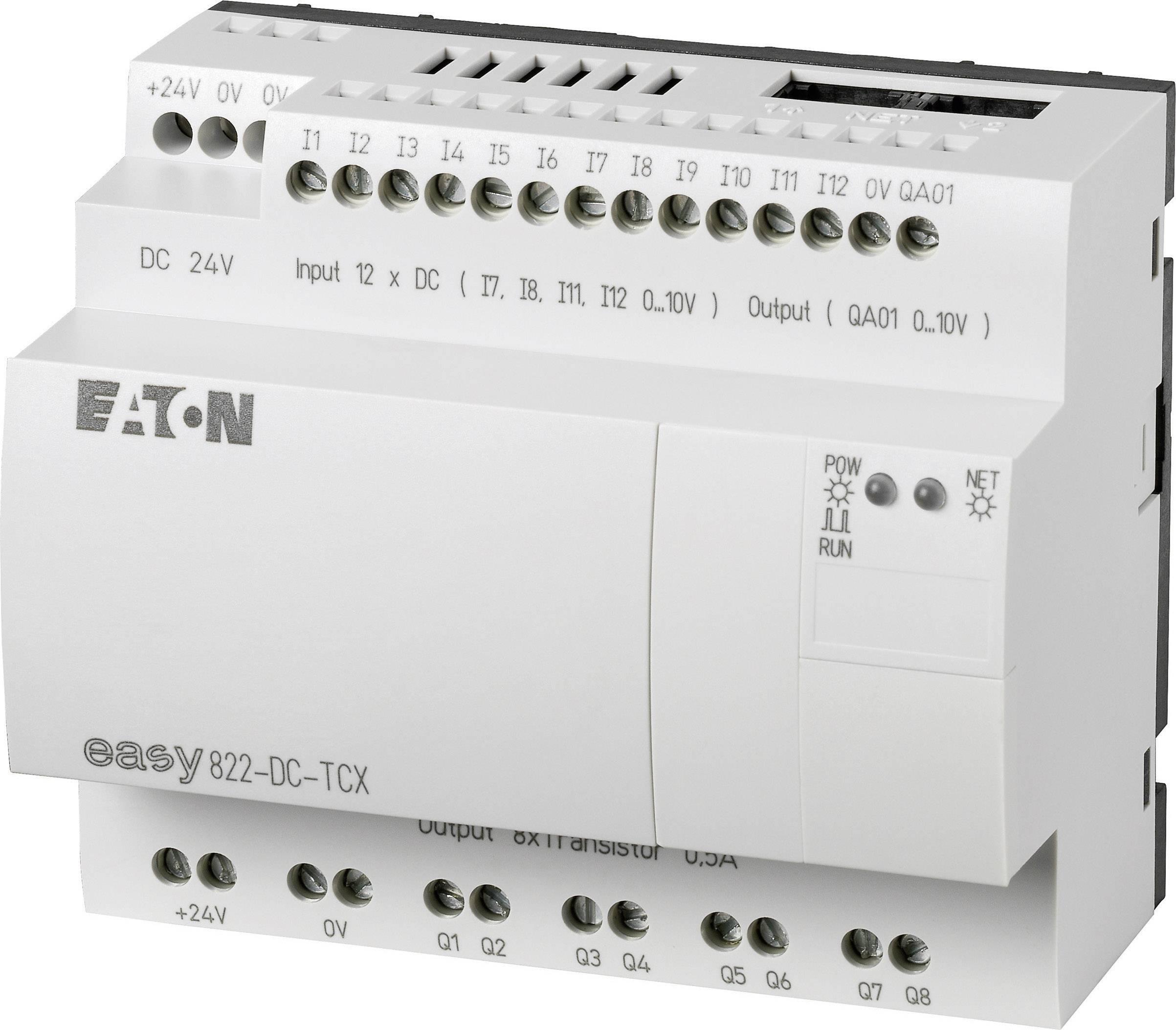 Řídicí reléový modul Eaton easy 822-DC-TCX (256276), IP20, 12, 8x tranzistor