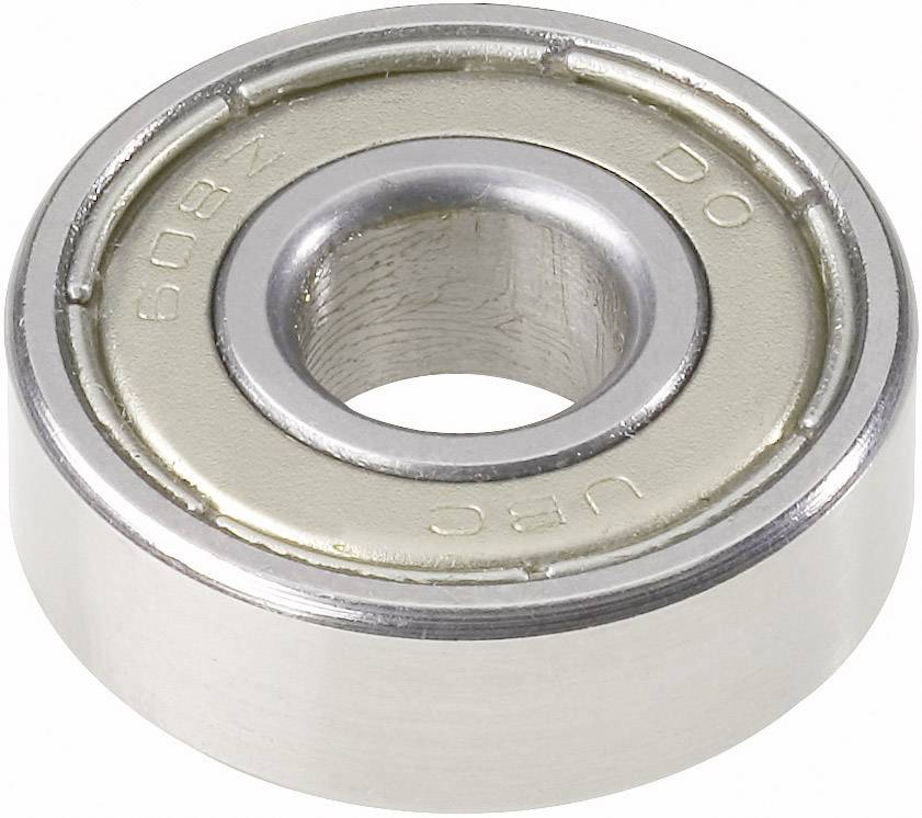UBC Bearing 607 2Z, Ø otvoru 7 mm, vonkajší Ø 19 mm