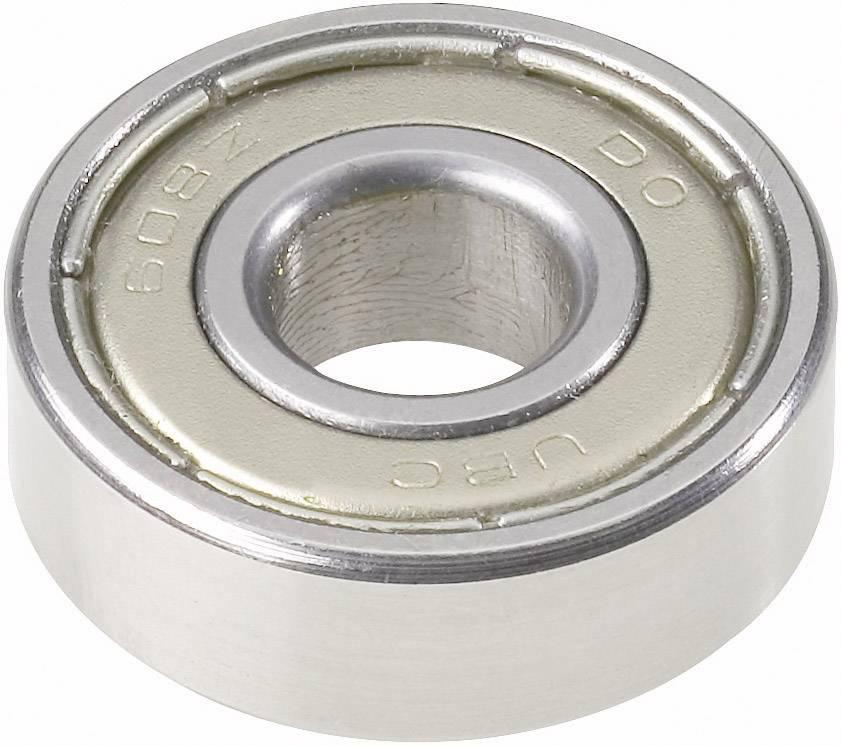 UBC Bearing 608 2Z, Ø otvoru 8 mm, vonkajší Ø 22 mm, počet otáčok (max.) 30000 rpm