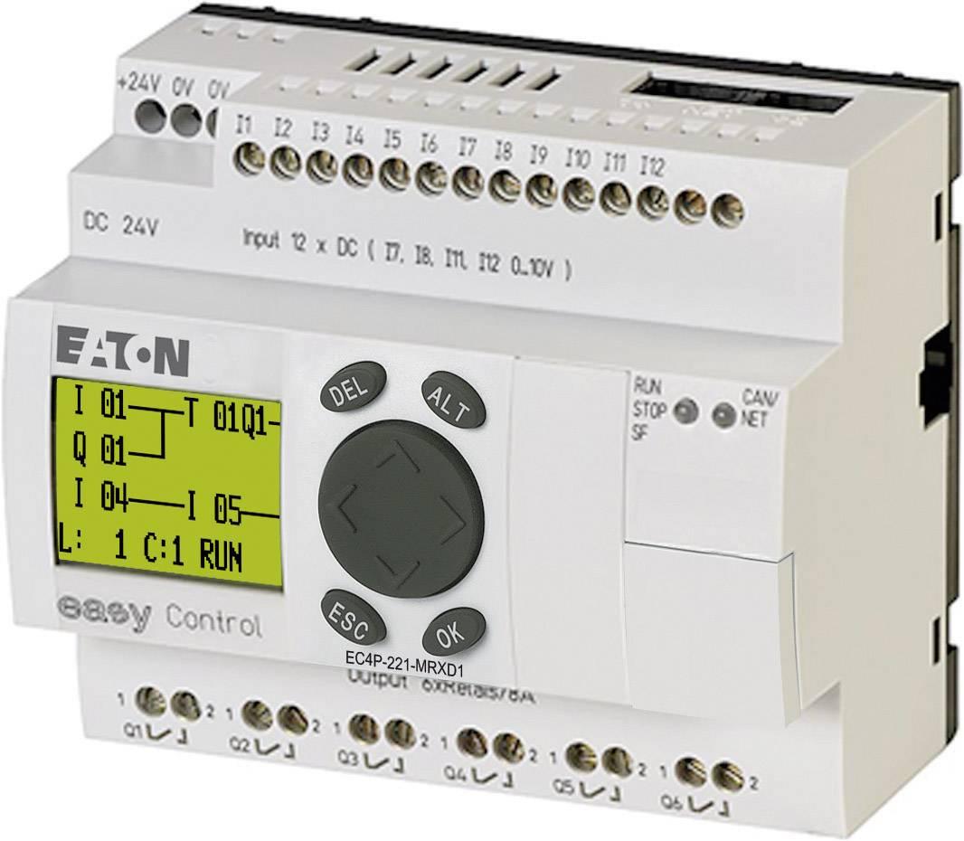 Riadiacimodul Eaton EC4P-221-MRXD1 106393, 24 V/DC