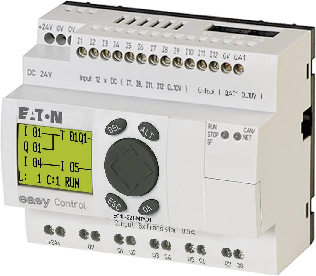 Riadiacimodul Eaton EC4P-221-MTAD1 106395, 24 V/DC