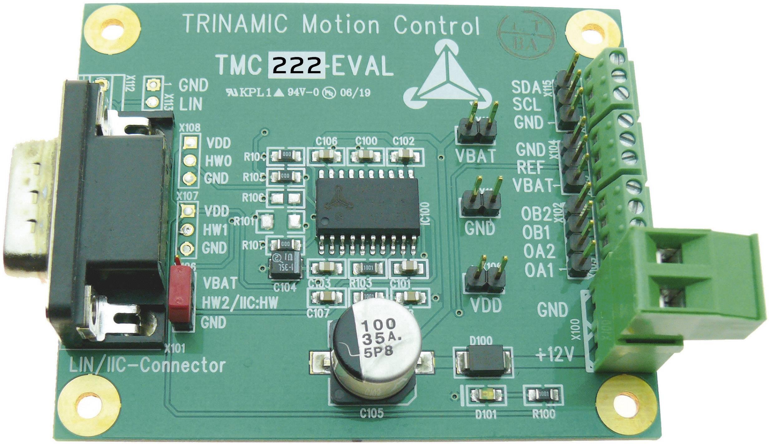 Vyhodnocovací deska Trinamic TMC222