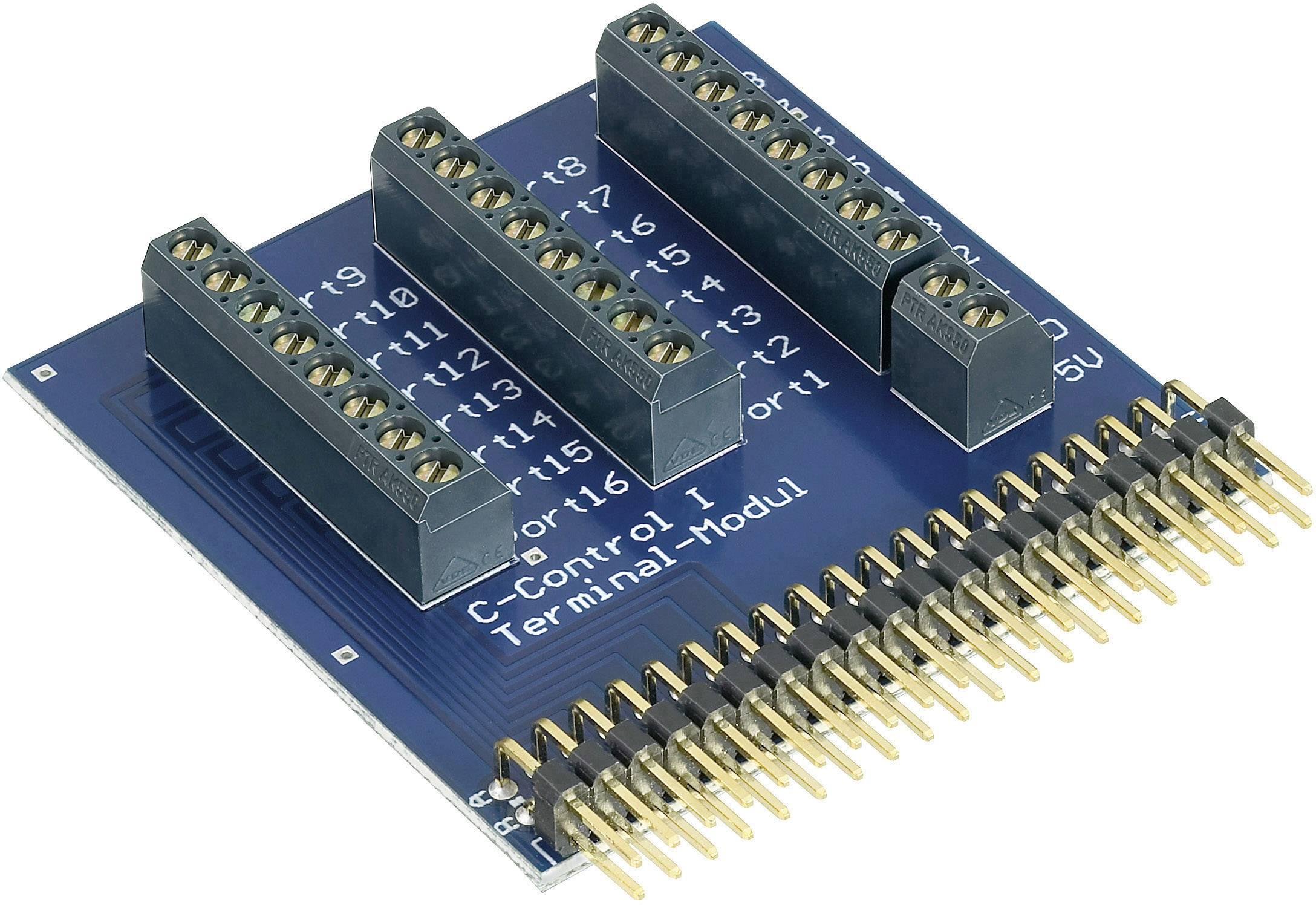 Svorkový modul C-Control pre pripojenie aplikácii