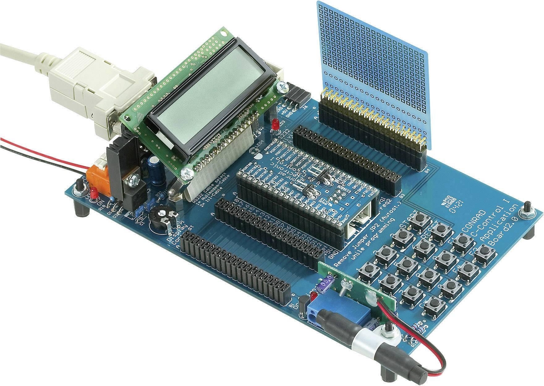 Aplikačná doska C-Control, 9 - 12 V/DC