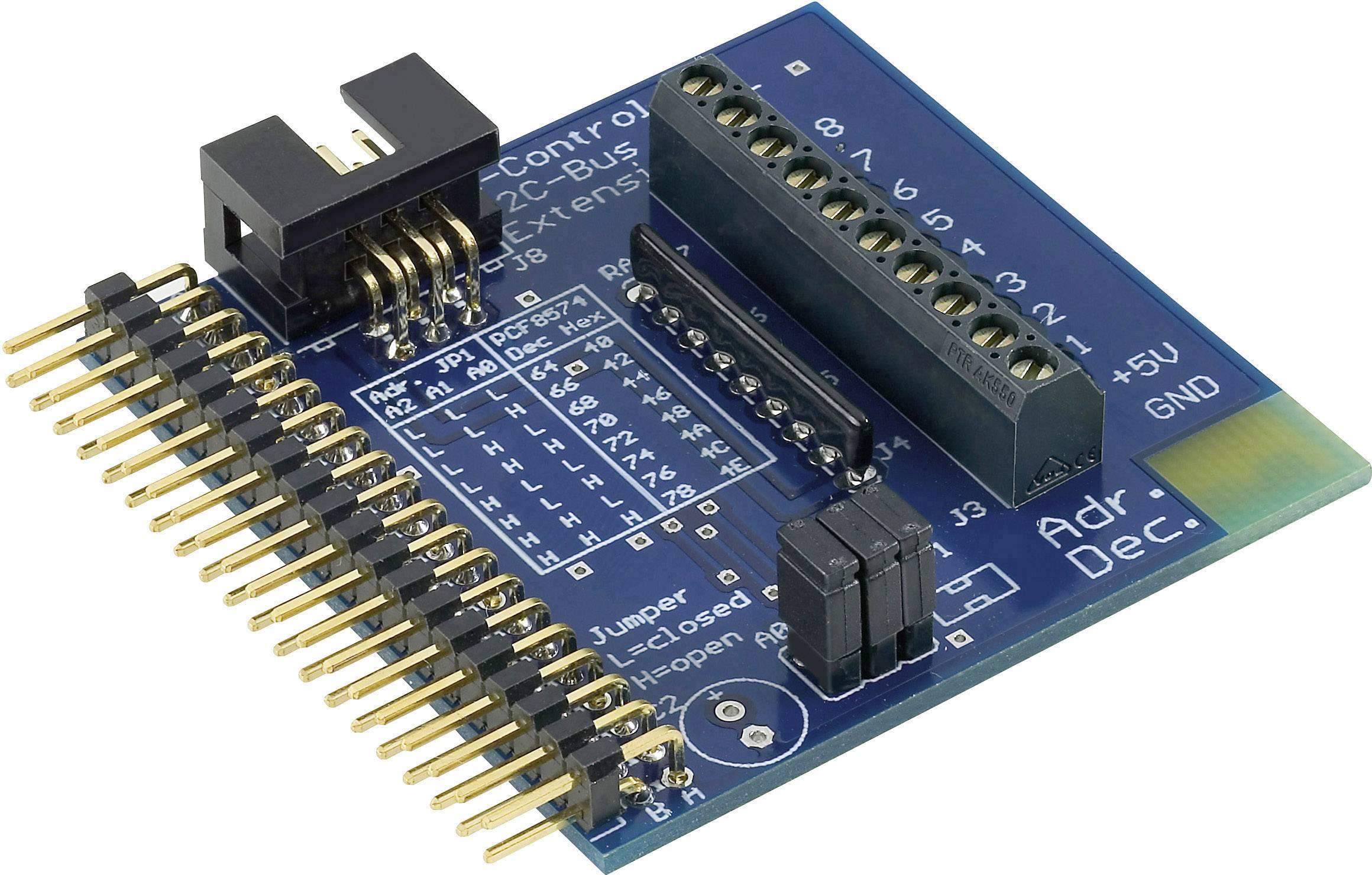 I²C rozširujúci port 1 pre aplikačnú dosku C-Control