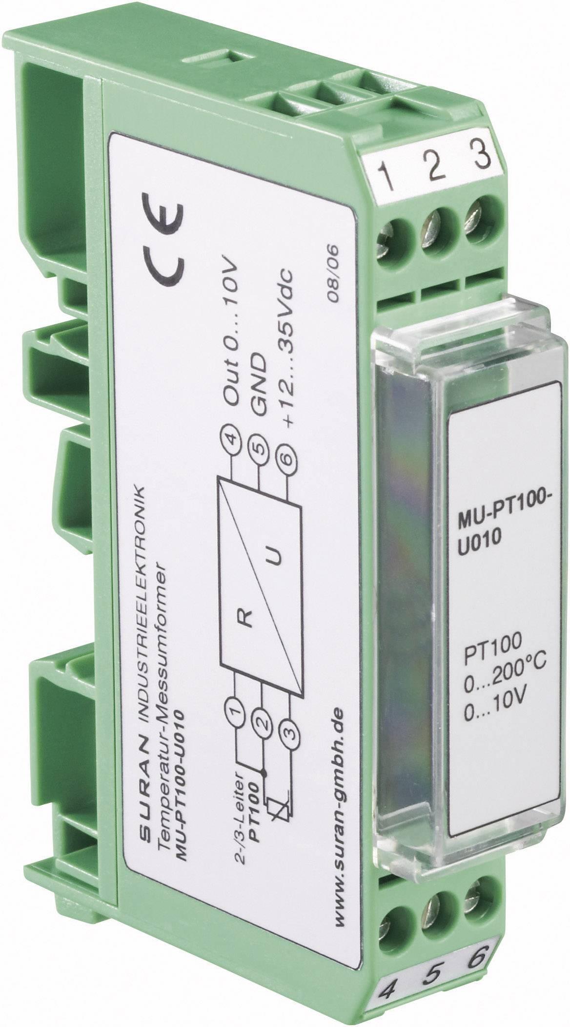 Měřicí převodník Enda MU-Pt 100-U010, 0 až +200 °C