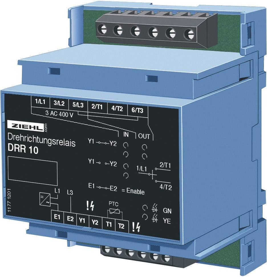 Monitor otáčania Ziehl DRR10 P 222546, Vstupy merania 3 AC 400 V