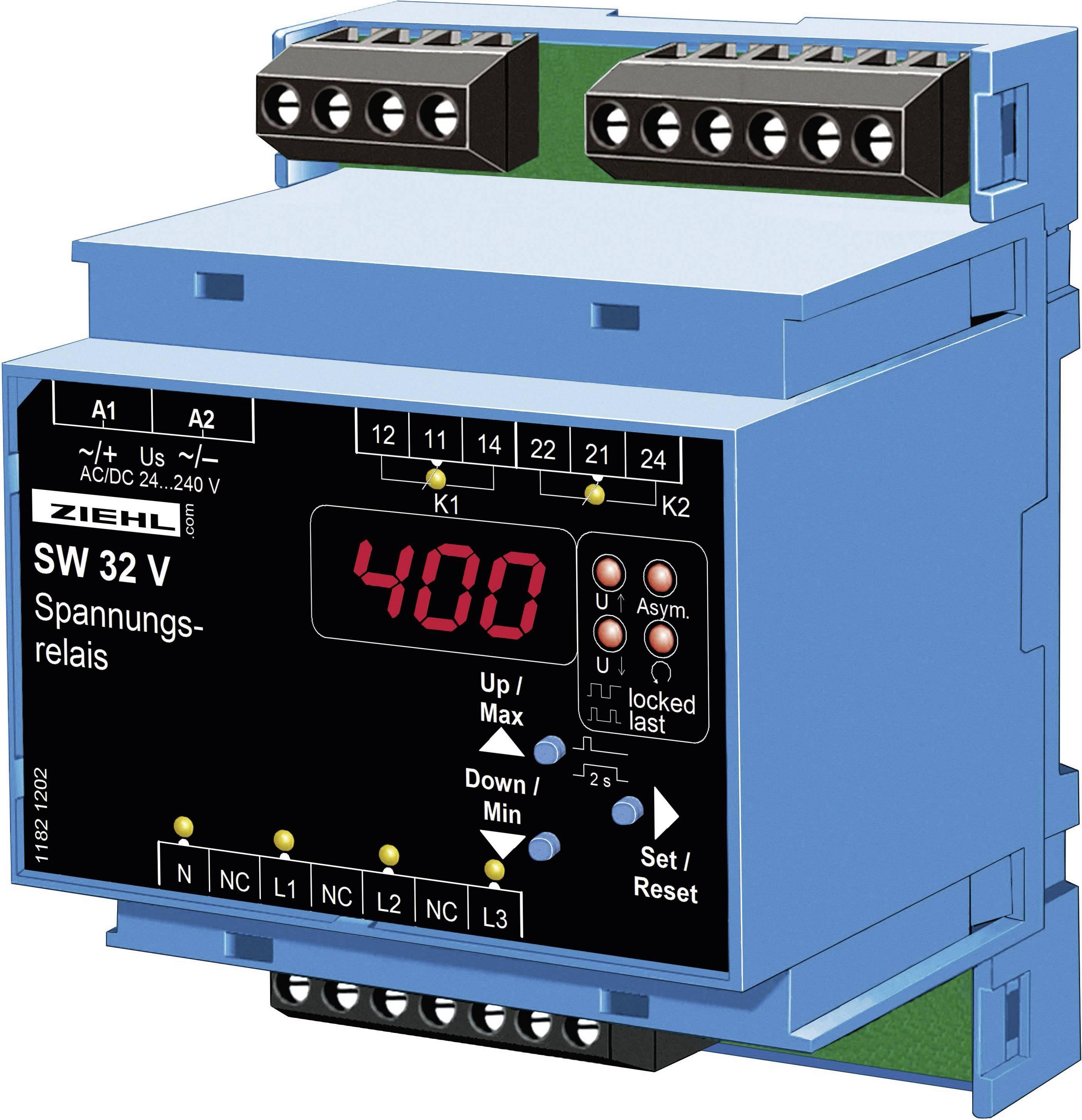 Relé pre monitoring napätia Ziehl SW32V S222279