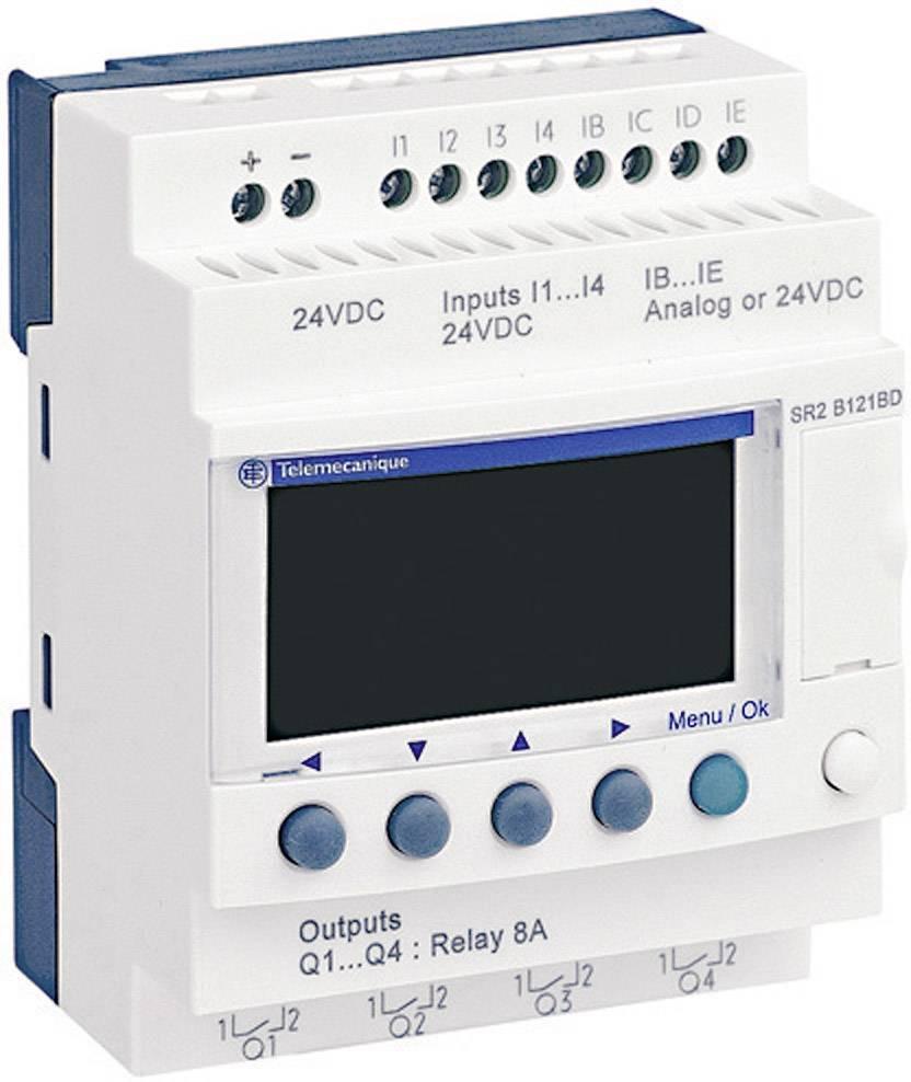 Řídicí PLC modul Schneider Electric Zelio Logic SR2 B121JD, 12 V/DC