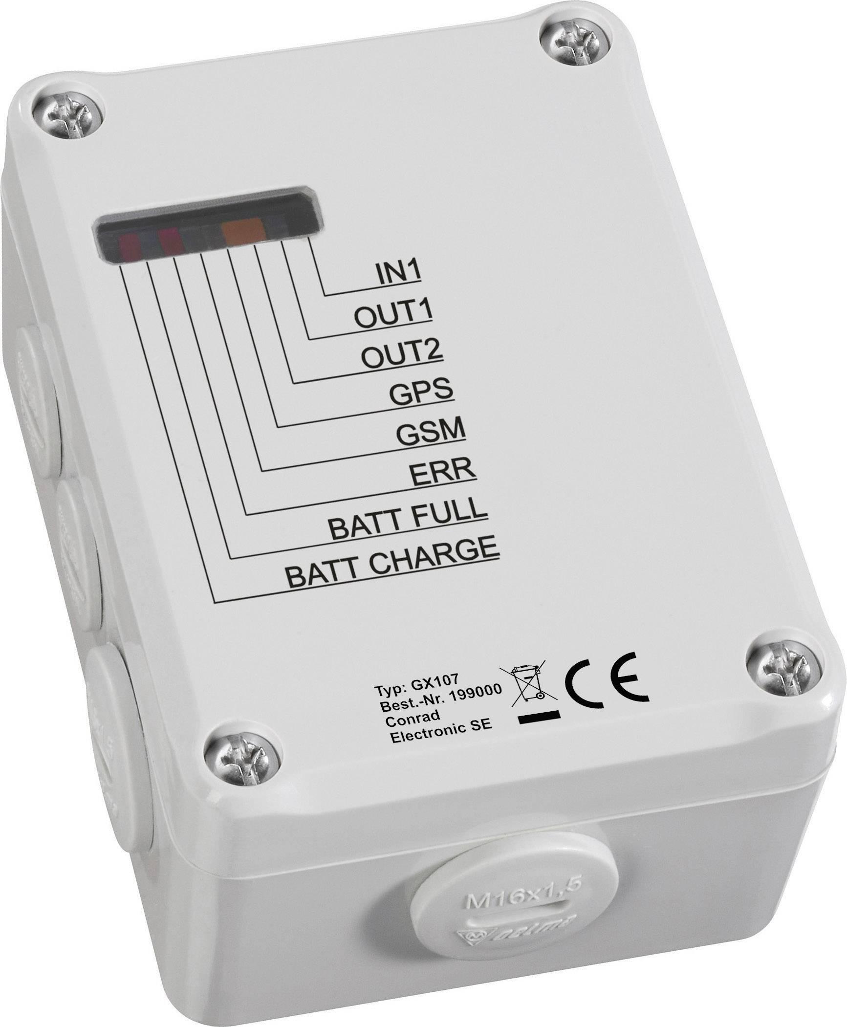 Konfiguračný nástroj/ GSM modul Conrad Components GX107, 5 V/DC, 32 V/DC