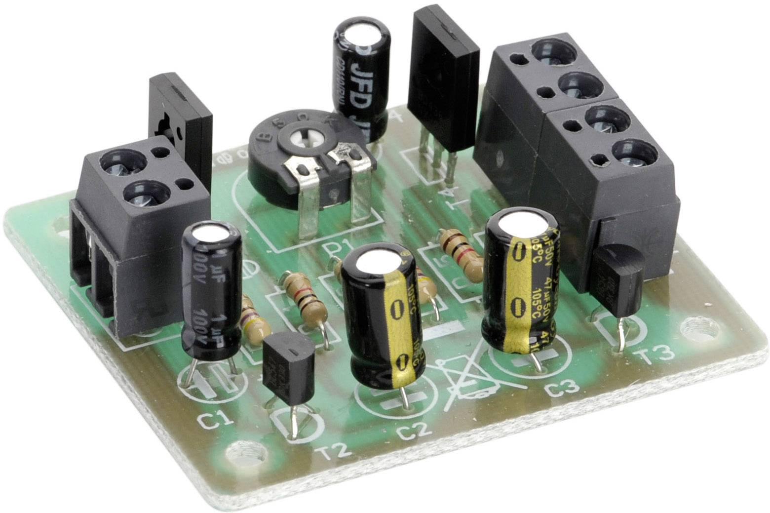 Conrad Components 199605, 4.5 V/DC, 5 V/DC, 6 V/DC, 9 V/DC, 12 V/DC, stavebnice