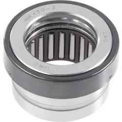 Axiálne drážkované guľôčkové ložisko UBC Bearing NKX 10 Z, Ø otvoru 10 mm, vonkajší Ø 25.2 mm, počet otáčok (max.) 12400 rpm