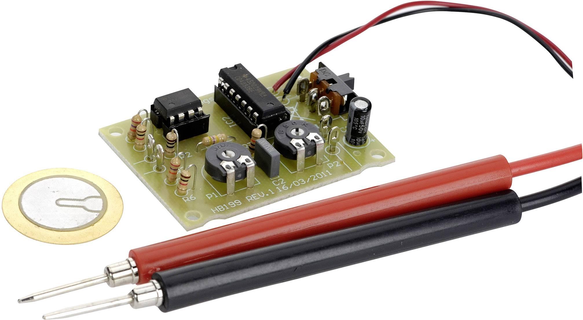Tester priechodnosti Conrad Components 199842, 9 V/DC, 12 V/DC, stavebnica