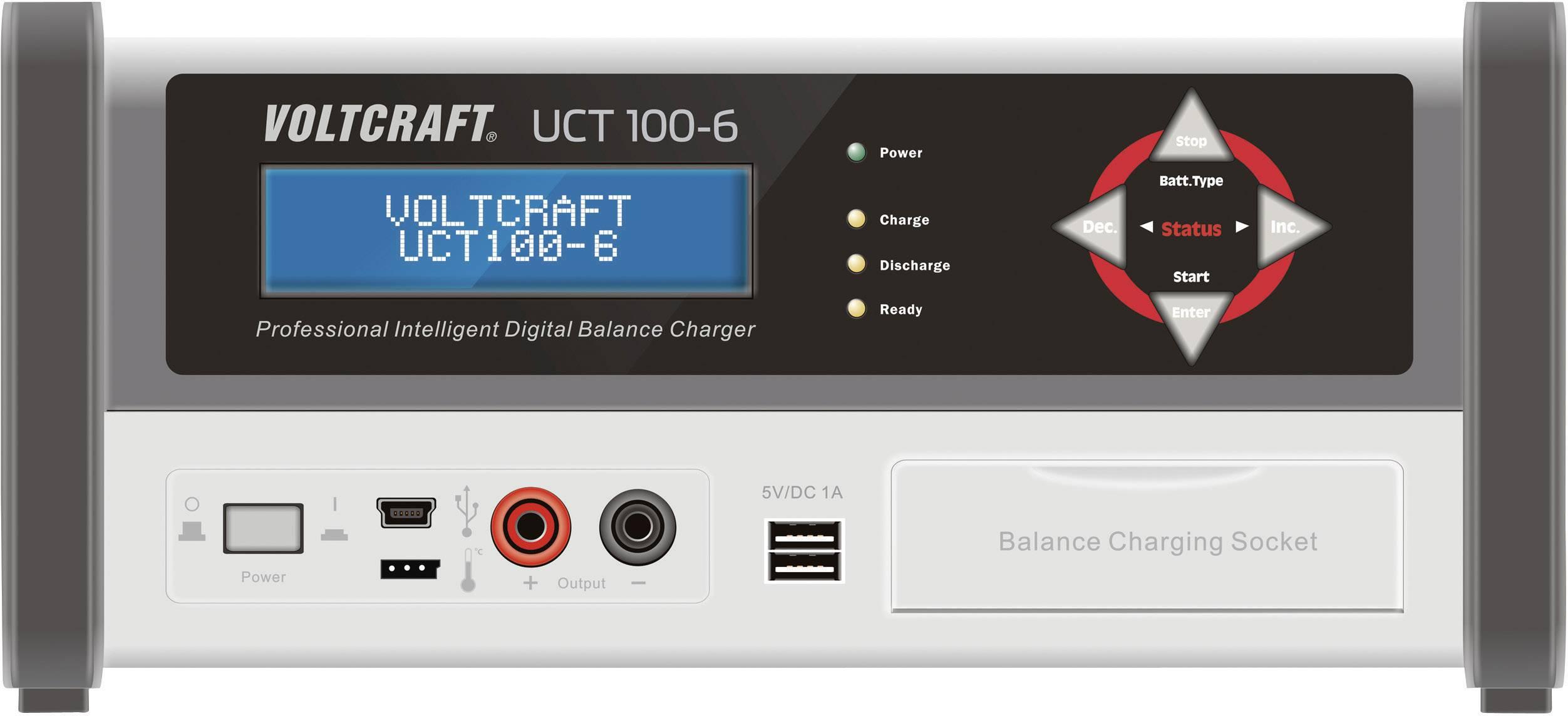 Nabíjacia stanica Voltcraft UCT 100-6