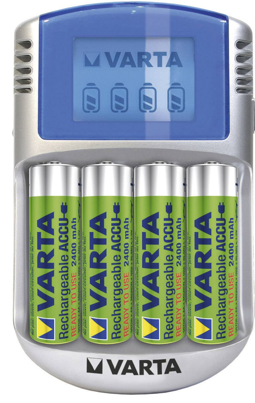 Nabíječka s USB Varta Power Play + 4x AA NiMH 2400 mAh