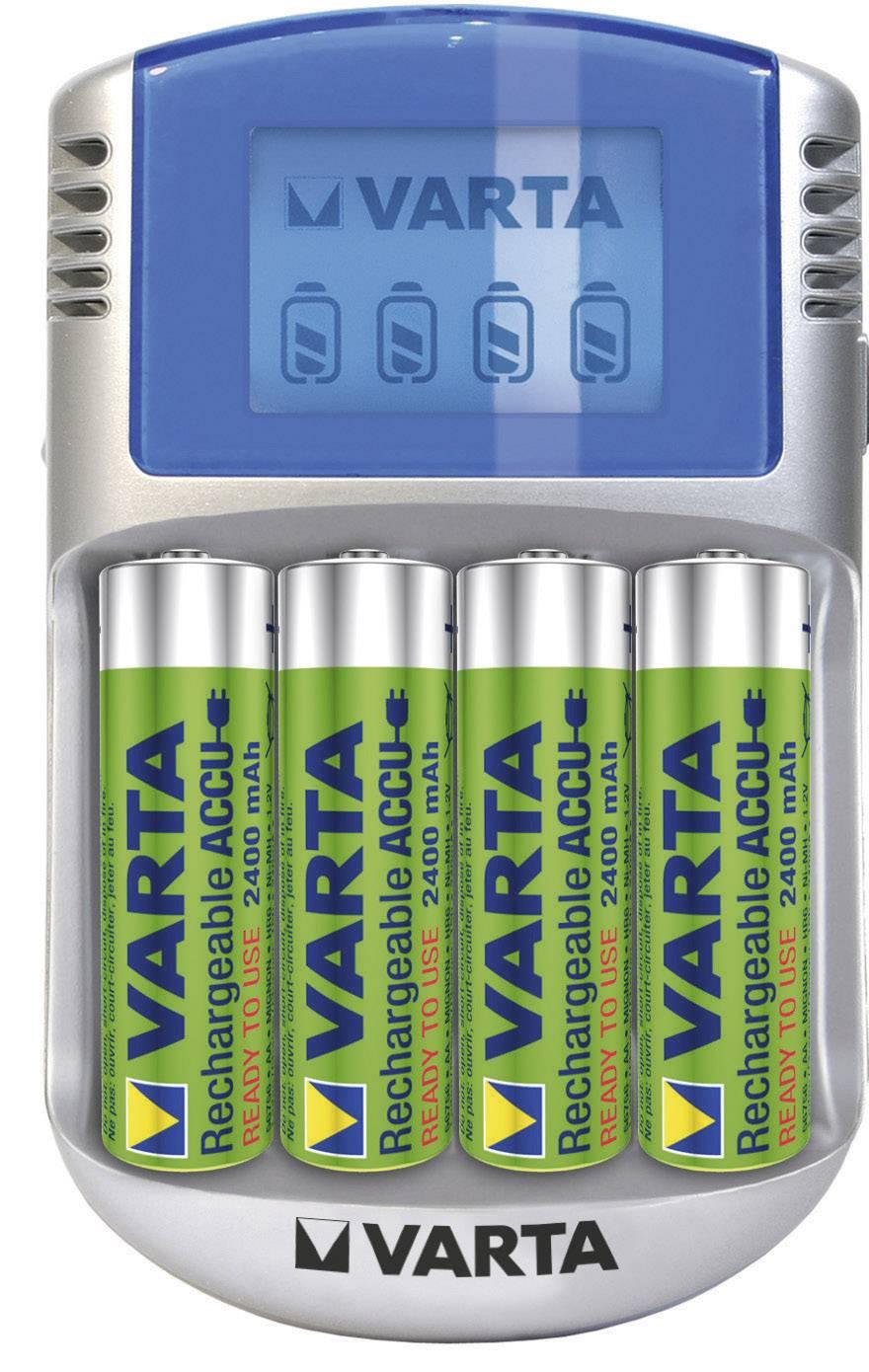 Power-Play LCD nabíjačka Varta, USB